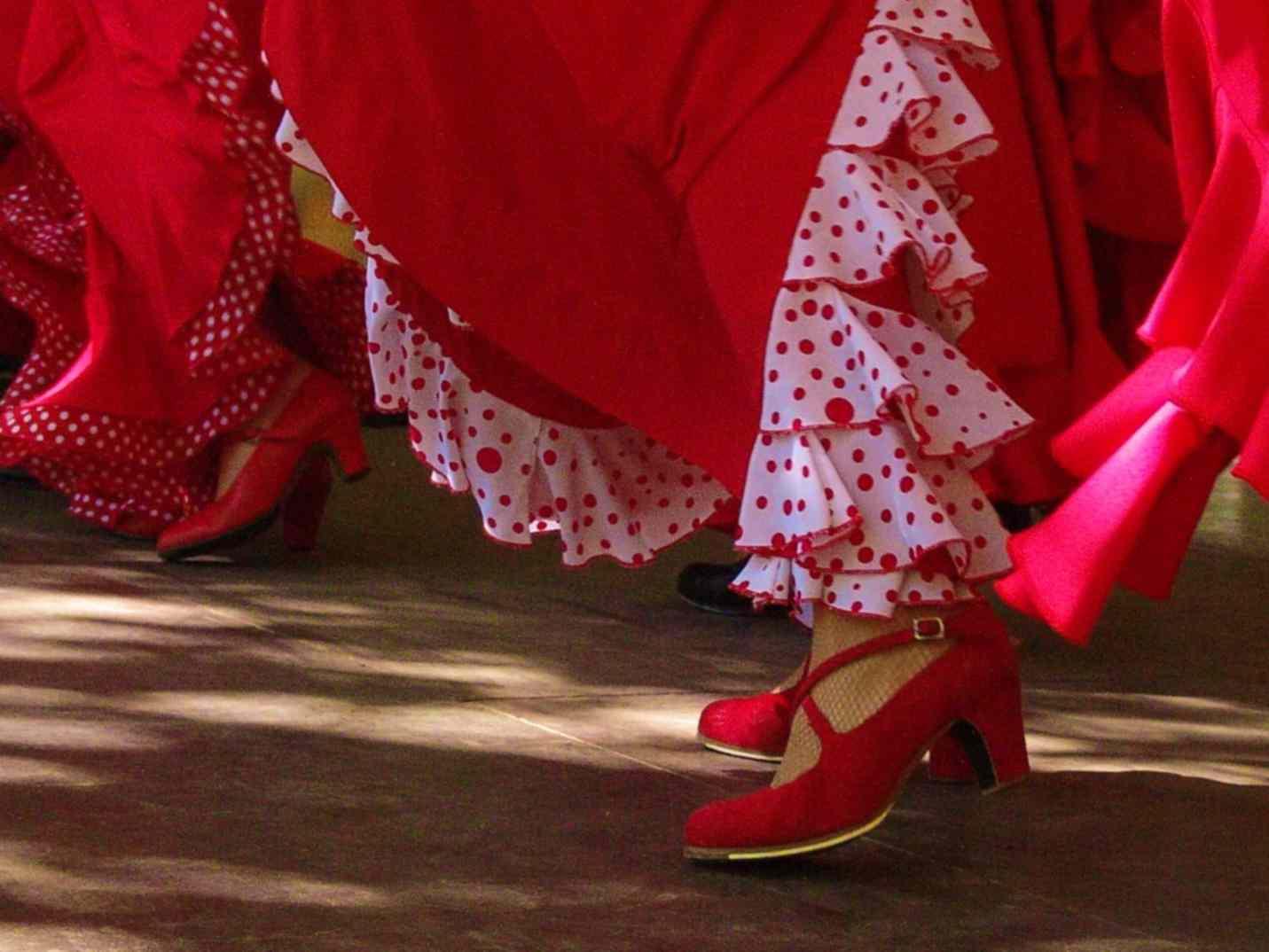 Flamenco: Carolina Bär, Stefan Pantarurell...