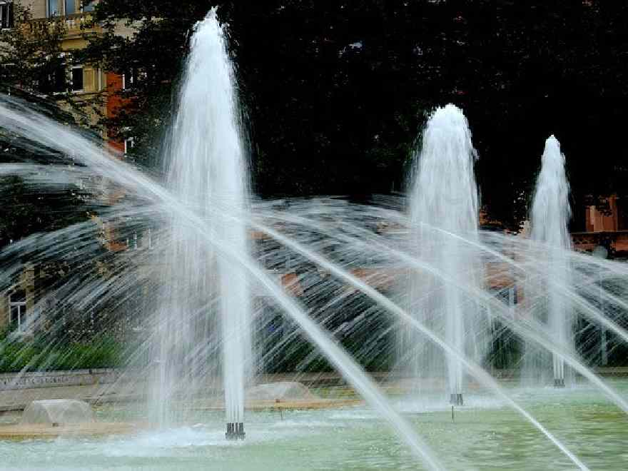 Eintritt Frei Wasserlichtspiele Tagsüber Planten Un Blomen 0105
