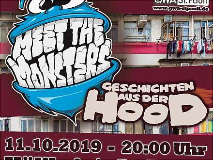 Improtheater Meet the Monsters - Geschichten aus der Hood