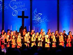 Happy Gospel Singers in noncert